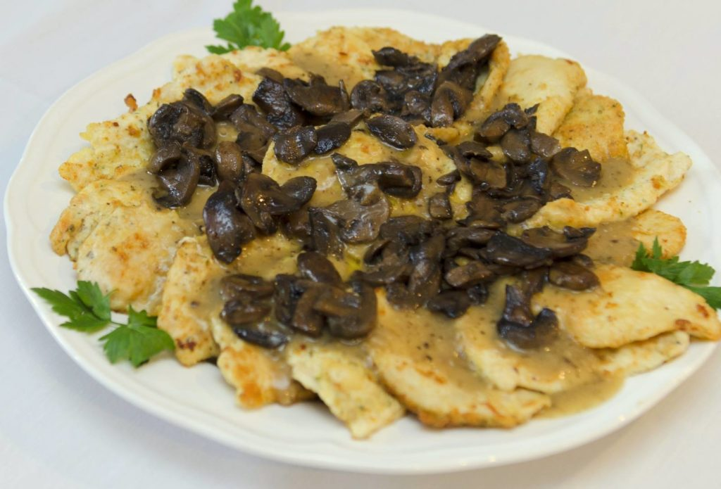 Catering food wedding party chicken marsala