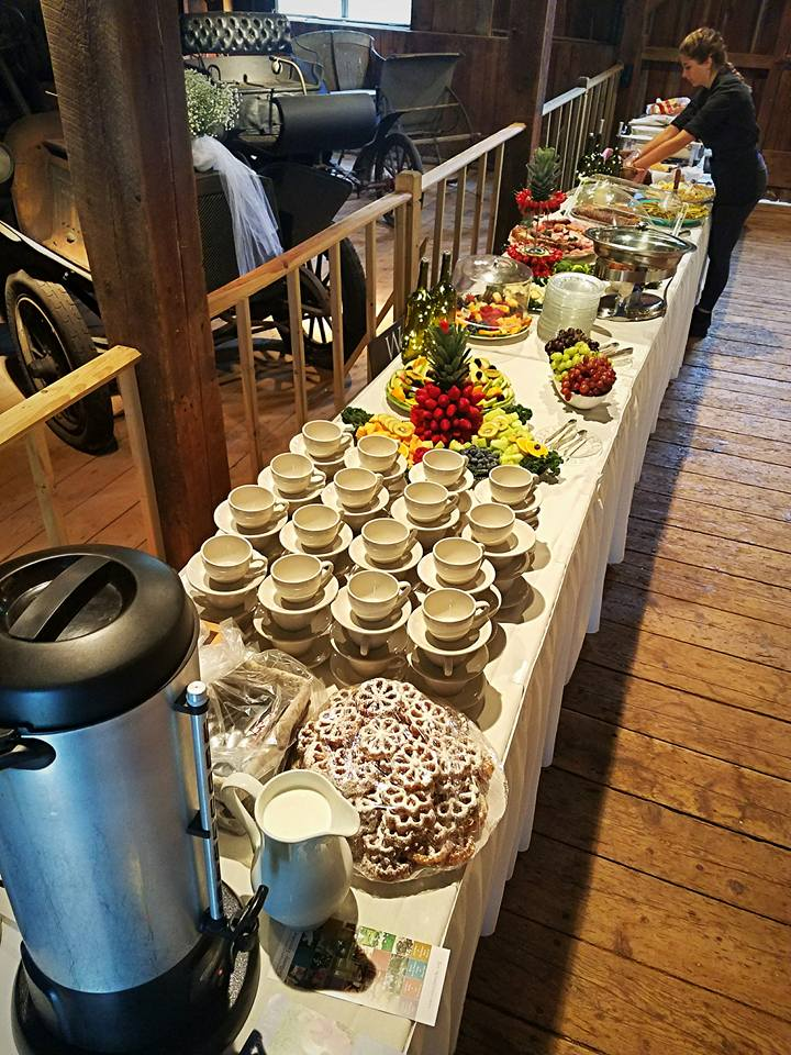 Catering food wedding party