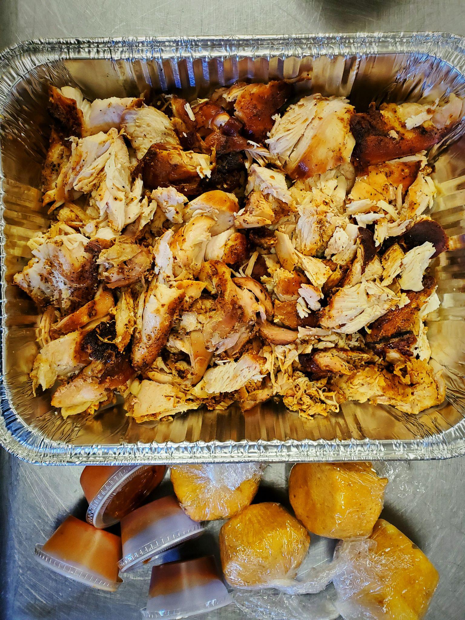 Bbq Party Trays Smoke Bbq Cafe